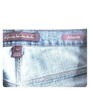 Gloria Vanderbilt Women's Amanda Jeans 18W Short